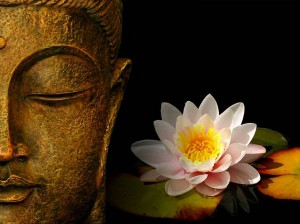Meditation Techniques for Beginners - Buddha and Lotus